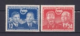 DDR - 1951 - Michel Nr. 296/97 - Postfrisch - DDR