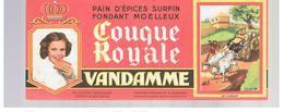 Buvard VANDAMME Buvards Images Des Rois De France Roi Fainéant - Peperkoeken