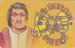 TURKEY - Uygur State 745 - 1368 AD Founder HUTLUG BILGE ,Chip CHT08 , 100 Unit ,used - Türkei
