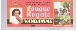 Buvard VANDAMME Buvards Images Des Rois De France Louis XV N°16 - Gingerbread