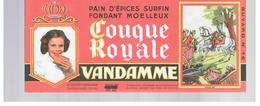 Buvard VANDAMME Buvards Images Des Rois De France Louis XV N°16 - Peperkoeken