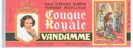 Buvard VANDAMME Buvards Images Des Rois De France Charles VII N°9 - Peperkoeken
