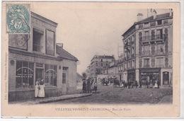 94-VILLENEUVE-SAINT-GEORGES-RUE DE PARIS-COMMERCES-ANIMÉE - Cognac