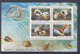 Singapore 1997 Shells Joint Issue With Thailand S/S Y.T. BF 59 ** - Singapore (1959-...)