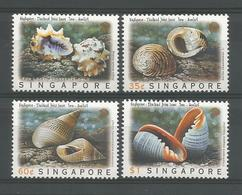 Singapore 1997 Shells Joint Issue With Thailand Y.T. 834/837 ** - Singapore (1959-...)
