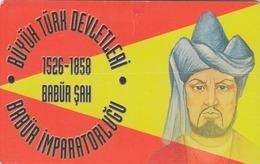 TURKEY - Babür Empire 1526 - 1858 Ad Founder Babür Sah ,Chip OR04 (Module 37) , 50 Unit ,used - Türkei