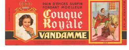 Buvard VANDAMME Buvards Images Des Rois De France Henri III N°12 - Pain D'épices