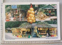 Republica Dominicana - Puestos De Frutas Tropicales - SP1855 - Postkaarten