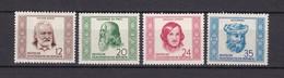DDR - 1952 - Michel Nr. 311/314 - Postfrisch - DDR