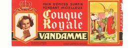 Buvard VANDAMME Buvards Images Des Rois De France CHARLEMAGNE N°5 - Gingerbread