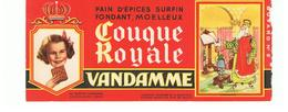 Buvard VANDAMME Buvards Images Des Rois De France CHARLEMAGNE N°5 - Peperkoeken