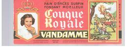 Buvard VANDAMME Buvards Images Des Rois De France CLOVIS N°2 - Gingerbread