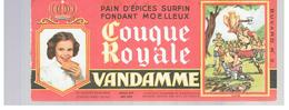 Buvard VANDAMME Buvards Images Des Rois De France CLOVIS N°2 - Peperkoeken