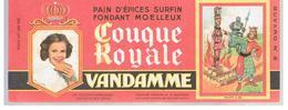 Buvard VANDAMME Buvards Images Des Rois De France Philippe Le Bel N°8 - Pain D'épices