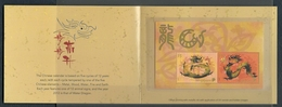Singapore 2012 Year Of The Dragon  S/S Y.T. BF 153 ** - Singapore (1959-...)