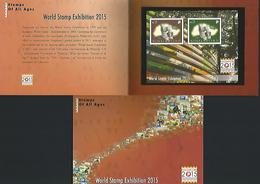 Singapore 2014 World Stamp Exhibition 2015 Collector Sheet S/S Y.T. BF 169B ** - Singapore (1959-...)