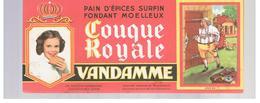 Buvard VANDAMME Buvards Images Des Rois De France Louis XVI - Peperkoeken