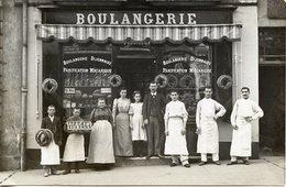 """21 DIJON - CARTE PHOTO BOULANGERIE DIJONNAISE """"FOURILLON"""" - Dijon"""
