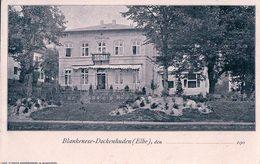Allemagne, Blankenese-Dockenhuden Elbe, Elbkurhaus (1906) - Blankenese