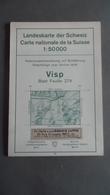 SUISSE / SCHWEIZ - Carte Nationale - 1: 50 000 -  VISP - Blatt Feuille 274 - - Topographische Kaarten