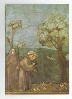1969, Assisi - Basilica Di San Francesco - Chiesa Suoeriore S.Francesco Predica Agli Uccelli. (Giotto). - Chiese E Cattedrali