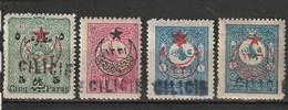 Cilicie N° 1, 5, 6, 8 * - Cilicia (1919-1921)