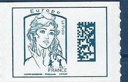 """FR Adhesif YT 1216 (5019) """" Marianne Et La Jeunesse, Europe """" 2016 Neuf** - Francia"""