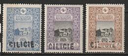 Cilicie N° 15, 16, 17 * - Cilicia (1919-1921)