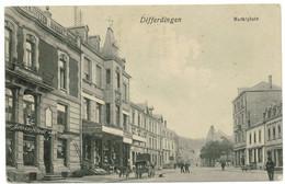 DIFFERDINGEN 1922 : Marktplatz Differdange - Differdange
