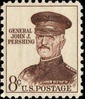 1961 USA John J. Pershing Stamp Sc#1214  Famous History Post General  WWI Martial - Militaria