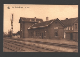 Sint-Gillis-Waas / St. Gillis-Waas - De Statie - Station / Gare - Sint-Gillis-Waas