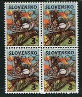 SLOVAKIA 1997 Easter Block Of 4  MNH / **.  Michel 274 - Nuevos