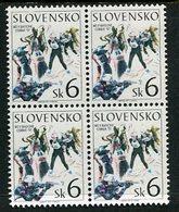 SLOVAKIA 1997 Biathlon World Championship Block Of 4  MNH / **.  Michel 273 - Nuevos