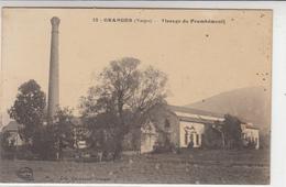 88 GRANGES  Tissage De Frambémenil - Granges Sur Vologne