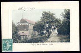 Cpa Du 08 Attigny Chemin De L' écluse   DEC19-04 - Attigny