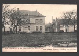 Sint-Gillis-Waas - Het Kasteel Van Mr Dr Lancelote - Uitgave Cesar Rombaut-Heyndrickx, Schilder - Sint-Gillis-Waas