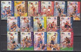 Australia - AUSTRALIAN FOOTBALL 1996 - 2000-09 Elizabeth II