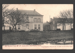 Sint-Gillis-Waas - Het Kasteel Van Mr Dr Lancelote - Uitgave Cesar Rombaut-Heyndrickx, Schilder - 1907 - Sint-Gillis-Waas