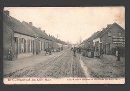 Sint-Gillis-Waas - De S. Heerestraat - Uitgave Cesar Rombaut-Heyndrickx, Schilder - 1907 - Sint-Gillis-Waas