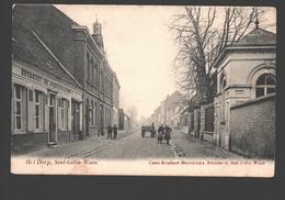 Sint-Gillis-Waas - Het Dorp - Uitgave Cesar Rombaut-Heyndrickx, Schilder - 1907 - Sint-Gillis-Waas