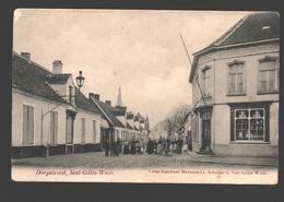 Sint-Gillis-Waas - Dorpstraat - Uitgave Cesar Rombaut-Heyndrickx, Schilder - Sint-Gillis-Waas