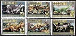 Togo 1994**Mi.2206-11 Dinosaurs , MNH [17;62] - Briefmarken