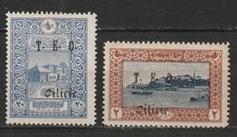 Cilicie N° 69, 72 * - Cilicien (1919-1921)