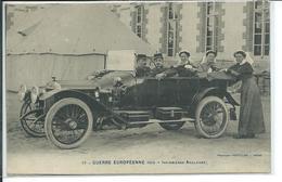 Guerre Européenne 1914- Infirmières Anglaises - Guerre 1914-18