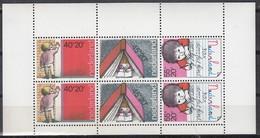 NIEDERLANDE Block 19, Postfrisch **, 30 Jahre Werbung Für Kinderbriefmarken Durch Die Schulen, 1978 - Blocs