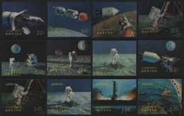Bhutan 1969 - Mi-Nr. 313-324 ** - MNH - Raumfahrt / Space - Bhutan