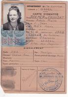 Carte D'identité 1950 - Vieux Papiers
