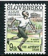 SLOVAKIA 1996 Centenary Of Modern Olympics  MNH / **.  Michel 245 - Nuevos