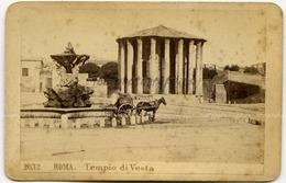 CDV, G. Sommer (Napoli), N°2032 Roma Tempio Di Vesta - Photos