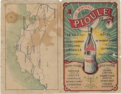 83  Luc En Provence Depliant Publicitaire Eaux Minerales Naturelles Des Sources De Pioule - Le Luc